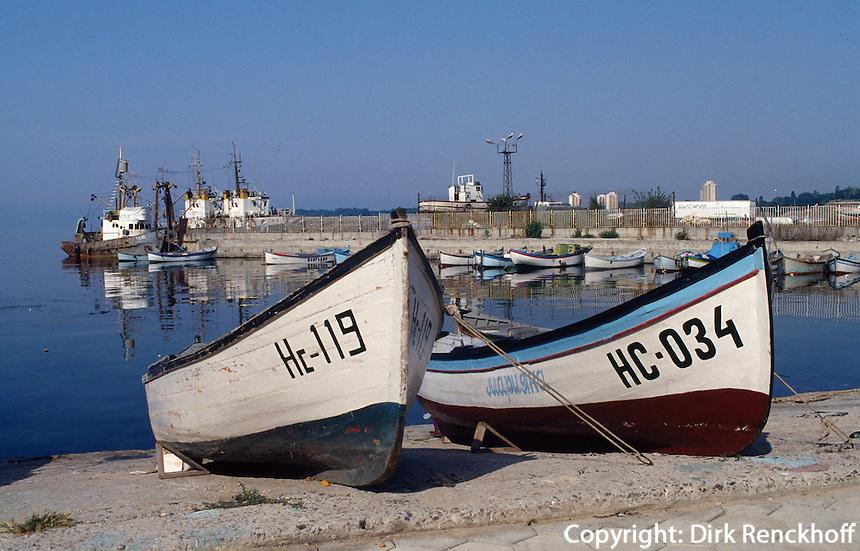 Bulgarien, Hafen von Nesebar