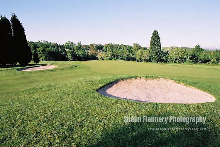 Pix: Shaun Flannery/shaunflanneryphotography.com...COPYRIGHT PICTURE>>SHAUN FLANNERY>01302-570814>>07778315553>>..18th May 2004..............Hickleton Golf Club, Lidgett Lane, Hickleton, Doncaster, DN5 7BE..Golf Course - 4th green.