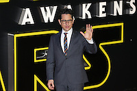 Movie Director JJ Abahams during the STAR WARS: 'The Force Awakens' EUROPEAN PREMIERE at Odeon, Empire & Vue Cinemas, Leicester Square, England on 16 December 2015. Photo by David Horn / PRiME Media Images