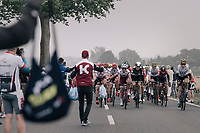 coming through the feedzone<br /> <br /> 104th Tour de France 2017<br /> Stage 2 - Düsseldorf › Liège (203.5km)