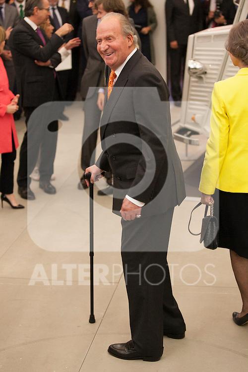 "King Juan Carlos of Spain during the ""REY DE ESPAÑA"" International Journalism Awards and ¨DON QUIJOTE"" Journalism Award in Madrid, Spain. May 27, 2014. (ALTERPHOTOS/Victor Blanco)"
