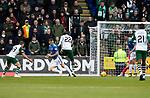 St Johnstone v Celtic…07.10.18…   McDiarmid Park    SPFL<br />Odsonne Edouard scores for Celtic<br />Picture by Graeme Hart. <br />Copyright Perthshire Picture Agency<br />Tel: 01738 623350  Mobile: 07990 594431