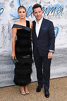 Holly Valance and Nick Candy<br /> arriving for The Summer Party 2019 at the Serpentine Gallery, Hyde Park, London<br /> <br /> ©Ash Knotek  D3511  25/06/2019