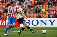 Vicki Dimartino scores a goal..FIFA U17 Women's World Cup, Paraguay v USA, Waikato Stadium, Hamilton, New Zealand, Sunday 2 November 2008. Photo: Renee McKay/PHOTOSPORT