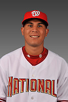 14 March 2008: ..Portrait of Wuillys Bravo, Washington Nationals Minor League player at Spring Training Camp 2008..Mandatory Photo Credit: Ed Wolfstein Photo