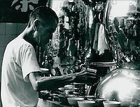 Nachtmarkt in Hongkong 1977
