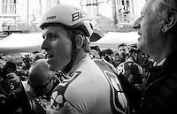 race winner Arnaud Démare (FRA/FDJ) immediately after winning the 107th Milano-Sanremo (2016)