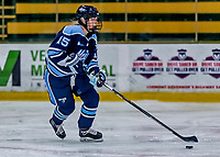 1 December 2018: University of Maine Black Bear Defender Ida Press, a Freshman from Uppsala, Sweden, in first period action against the University of Vermont Catamounts at Gutterson Fieldhouse in Burlington, Vermont. The Lady Cats defeated the Lady Bears 3-2 in the second game of their 2-game Hockey East series. Mandatory Credit: Ed Wolfstein Photo *** RAW (NEF) Image File Available ***