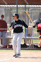 David Christensen, Colorado Rockies 2010 minor league spring training..Photo by:  Bill Mitchell/Four Seam Images.