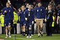 17/11/2007      Copyright Pic: James Stewart.File Name : sct_jspa09_scotland_v_italy.SCOTLAND PLAYERS ARE DEJECTED AFTER GOING DOWN FIGHTING.James Stewart Photo Agency 19 Carronlea Drive, Falkirk. FK2 8DN      Vat Reg No. 607 6932 25.Office     : +44 (0)1324 570906     .Mobile   : +44 (0)7721 416997.Fax         : +44 (0)1324 570906.E-mail  :  jim@jspa.co.uk.If you require further information then contact Jim Stewart on any of the numbers above........