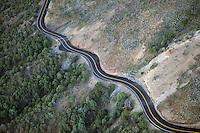 Road up Capulin volcano, New Mexico. Sept 2013
