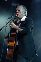 Quebec (Qc) CANADA, July 2007<br /> <br /> French singer Renaud at the Festival d'ete de Quebec 2007, in Quebec City.