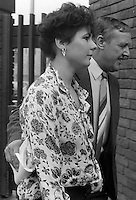 Pix: Copyright Anglia Press Agency/Archived via SWpix.com. The Bamber Killings. August 1985. Murders of Neville and June Bamber, daughter Sheila Caffell and her twin boys. Jeremy Bamber convicted of killings serving life...copyright photograph>>Anglia Press Agency>>07811 267 706>>..Julie Mugford, girlfriend of Jeremy Bamber, at Chelmsford Crown Court. no date..ref 0004 neg 10