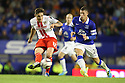 Greg Tansey of Stevenage escapes from Ross Barkley of Everton<br />  - Everton v Stevenage - Capital One Cup Second Round - Goodison Park, Liverpool - 28th August, 2013<br />  © Kevin Coleman 2013