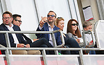Ed Woodward watches the Man Utd womens team from the stands   [dark glasses]