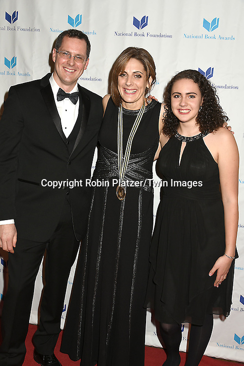 Ali Benjamin and Blair and Meredith attend the 66th Annual National Book Awards  Ceremony & Dinner on November 18, 2015 2015 at Cipriani Wall Street  in New York City, New York, USA.<br /> <br /> photo by Robin Platzer/Twin Images<br />  <br /> phone number 212-935-0770