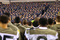 Philadelphia, PA - December 14, 2019:  Army Black Knights   after the 120th game between Army vs Navy at Lincoln Financial Field in Philadelphia, PA. (Photo by Elliott Brown/Media Images International)
