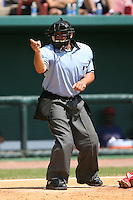 March 19th 2008:  MLB Umpire Phil Cuzzi during a Spring Training game at Al Lang Field in St. Petersburg, FL.  Photo by:  Mike Janes/Four Seam Images