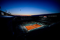 5th June 2021; Roland Garros, Paris France; French Open tennis championships day 9; Centre court,  Philippe Chatrier during a Night Session
