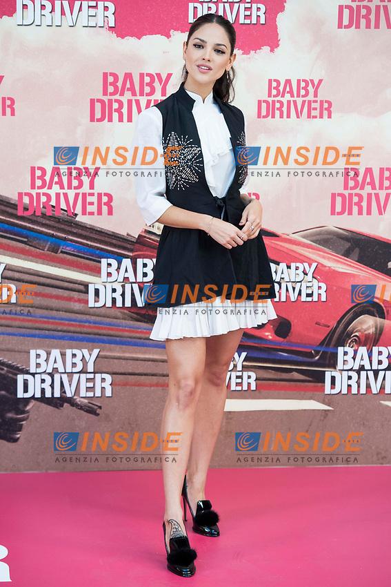 Mexican actress Eiza González attends to the presentation of the film 'Baby Driver' at Villa Magna Hotel in Madrid, June 23, 2017. Spain.<br /> (ALTERPHOTOS/BorjaB.Hojas/Insidefoto)<br /> Foto ALTERPHOTOS/BorjaB.Hojas/Insidefoto