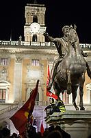 10.01.2019 - Contro DL Sicurezza Sgomberi Propaganda - Housing Crisis Rally Outside Rome's City Hall