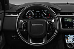 Car pictures of steering wheel view of a 2019 Land Rover Range-Rover-Velar Dynamic-SE 5 Door SUV Steering Wheel