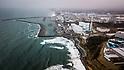 Aerial photo of Fukushima Daiichi Nuclear Power Plant
