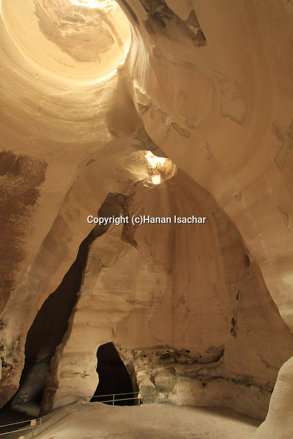 Israel, Shephelah, Bell cave in Beth Guvrin