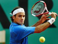 4-6-06,France, Paris, Tennis , Roland Garros, Roger Federer