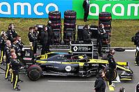 11th October 2020, Nuerburgring, Nuerburg, Germany; FIA Formula 1 Eifel Grand Prix, Race Day;  31 Esteban Ocon FRA, Renault DP World F1 Team