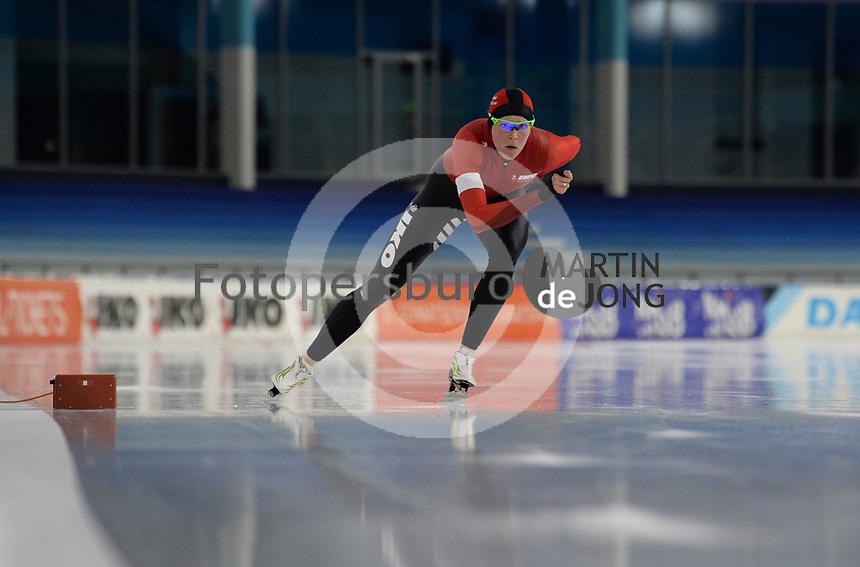 SCHAATSEN: HEERENVEEN: 10-10-2020, KNSB Trainingswedstrijd, Jorien ter Mors, ©foto Martin de Jong