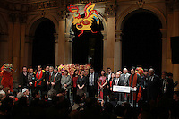 CÈlÈbration du Nouvel An Chinois ‡ la Mairie de Paris, le 01/02/2017. # ZHAI JUN, L'AMBASSADEUR DE CHINE, FETE LE NOUVEL AN CHINOIS A PARIS