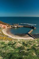 Cove Harbour, Cove, Scottish Borders
