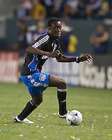 Kei Kamara, .San Jose Earthquakes vs Los Angeles Galaxy, April 4, 2008, in Carson California. The Galaxy won 2-0.