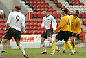 20040417    Copyright Pic: James Stewart.File Name : jspa04_clyde_v_raith.STUART MCCLUSKET SCORES CLYDE'S SECOND.....James Stewart Photo Agency 19 Carronlea Drive, Falkirk. FK2 8DN      Vat Reg No. 607 6932 25.Office     : +44 (0)1324 570906     .Mobile  : +44 (0)7721 416997.Fax         :  +44 (0)1324 570906.E-mail  :  jim@jspa.co.uk.If you require further information then contact Jim Stewart on any of the numbers above.........