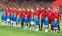 Spain's during match between Spain and Italy to clasification to World Cup 2018 at Santiago Bernabeu Stadium in Madrid, Spain September 02, 2017. (ALTERPHOTOS/Borja B.Hojas)