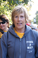 """Diana Nyad, four years after her record breaking swim of 110 miles from Cuba to Florida, in September 2017 lead over 100 people walking 132 miles from Copley Square Boston to Cape Elizabeth in Portland Maine. Then November 9th she disclosed having been sexually assaulted by her swimming coach at age 14 in a New York Times op ed """" My Life After Sexual Assault"""" saying we need to construct an accurate archive of these abuses. And we need to prepare coming generations to speak up in the moment, rather than be coerced into years of mute helplessness."""