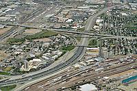 Mousetrap.  I25 and I70 freeway interchange. Denver, Colorado. Sept 2014.  815147