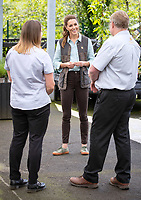 19 June 2020 - Norfolk - Kate Duchess of Cambridge Katherine Catherine Middleton during a visit to Fakenham Garden Centre in Norfolk where she met the owners and staff. The garden centre is near her Anmer Hall home and, as a keen gardener, the Duchess wanted to hear how the Covid-19 pandemic had affected the family-run independent business, which first opened in 1984. Photo Credit: ALPR/AdMedia