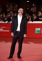 Il regista e scrittore Guido Lombardi  posa durante il red carpet per la presentazione del film 'Il Ladro di giorni' alla 14^ Festa del Cinema di Roma all'Aufditorium Parco della Musica di Roma, 20 ottobre 2019.<br /> Italian writer and director Guido Lombardi  poses on the red carpet to present the movie 'Il Ladro di giorni'  during the 14^ Rome Film Fest at Rome's Auditorium, on 20 October 2019.<br /> UPDATE IMAGES PRESS/Isabella Bonotto