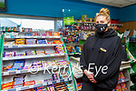 Sam Murphy busy working on the front line in Moriarty's Centra Farranfore on Friday