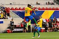 Harrison, NJ - Friday July 07, 2017: Gregory Lescot during a 2017 CONCACAF Gold Cup Group A match between the men's national teams of French Guiana (GUF) and Canada (CAN) at Red Bull Arena.