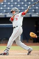 Brandon Wood - Mesa Solar Sox - 2010 Arizona Fall League.Photo by:  Bill Mitchell/Four Seam Images..