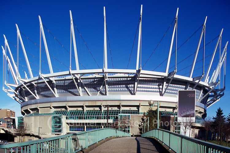 Vancouver, BC, British Columbia, Canada - BC Place Stadium (New Roof completed in 2011)