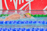 Jordan Harrison of AUS competes in 1500 meter final during Commonwealth Games Swimming, Tuesday, July 29, 2014 in Glasgow, United Kingdom. (Mo Khursheed/TFV Media via AP Images)