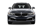 Car photography straight front view of a 2016 BMW 3 Series 328i 5 Door Hatchback Front View
