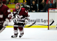 24 November 2009: University of Massachusetts Minuteman defenseman Douglas Kublin, a Junior from Manlius, NY, in action against the University of Vermont Catamounts at Gutterson Fieldhouse in Burlington, Vermont. The Minutemen defeated the Catamounts 6-2. Mandatory Credit: Ed Wolfstein Photo