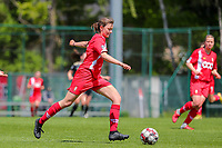Yuna Appermont (6) of Standard  in action during a female soccer game between Standard Femina de Liege and Oud Heverlee Leuven on the 10th and last matchday in play off 1 of the 2020 - 2021 season of Belgian Scooore Womens Super League , saturday 29 th of May 2021  in Angleur , Belgium . PHOTO SPORTPIX.BE   SPP   SEVIL OKTEM