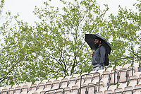 The rain continues to plague the WTC Final during India vs New Zealand, ICC World Test Championship Final Cricket at The Hampshire Bowl on 21st June 2021