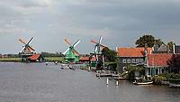 Nederland -  Zaanstad Zaanse Schans - 2019.   Molens aan de Zaan.  Foto Berlinda van Dam / Hollandse Hoogte